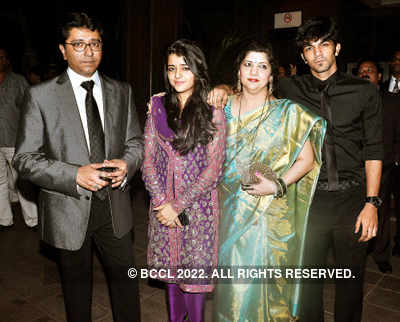 Thackeray's granddaughter's reception