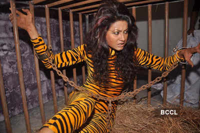 Gauhar, Nigar campaign for PETA