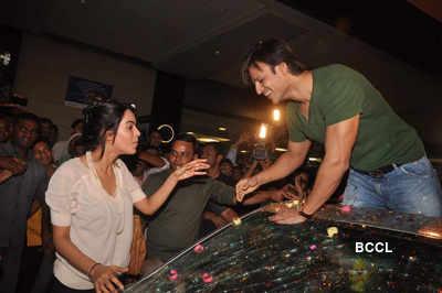 Vivek, Mallika promote 'Kismat Love Paisa Dilli'