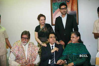 Stars celebrate Dilip Kumar's 89th b'day