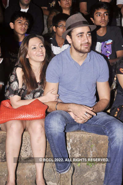 Celebs at 'Strings' concert