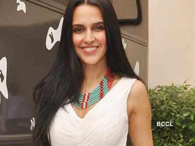 Neha promotes 'Pappu Can't Dance Saala'