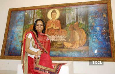 Preksha's art exhibition