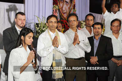 Dev Anand's prayer meet