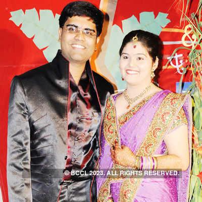Aniruddha & Rasika's ring ceremony