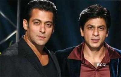 When Salman-SRK partied together!