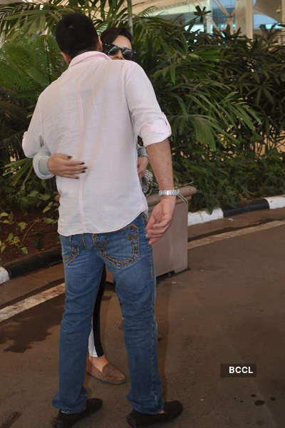 Stars return from Hyderabad