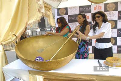Mugdha Godse attends 'Maha Feast'