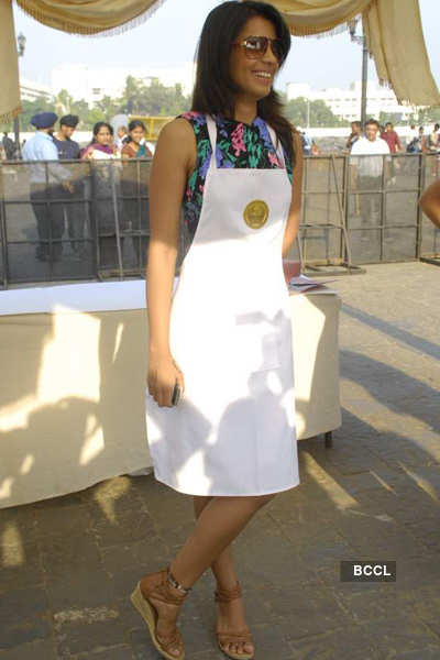 Mugdha at 'Maha Feast'