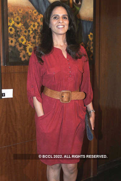 Art exibition hosted by Dia Mirza
