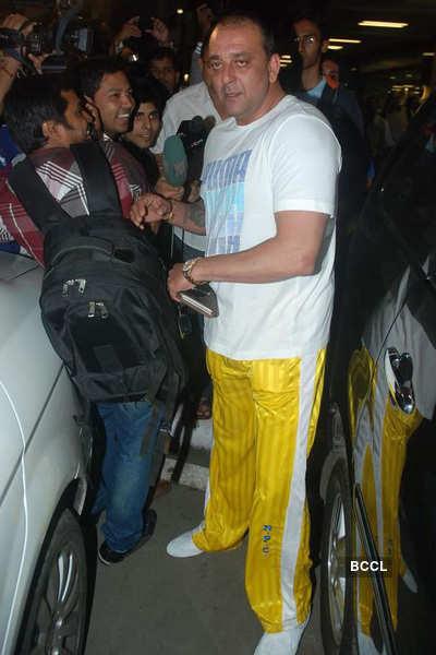 Sanjay at airport
