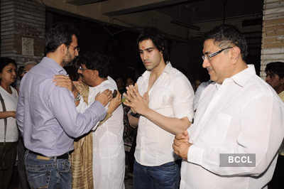 Sunil & Dharmesh Darshan's dad's prayer meet