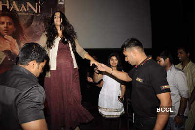 Vidya Balan promotes 'Kahani'