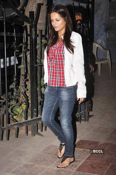 Bipasha Basu's b'day party