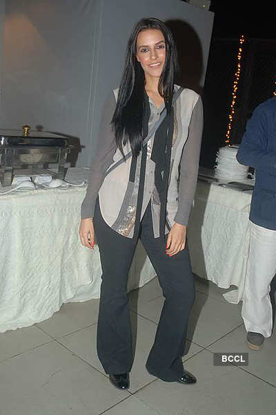 Neha Dhupia @ The Wedding Cafe