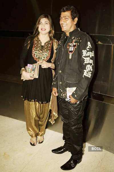 Kailash Kher's album launch