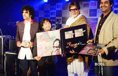 Kailash Kher's album launch