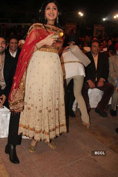 Celebs at Lohri party