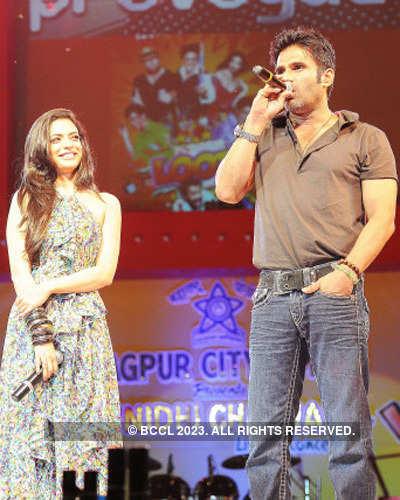 Sunidhi Chauhan's live concert