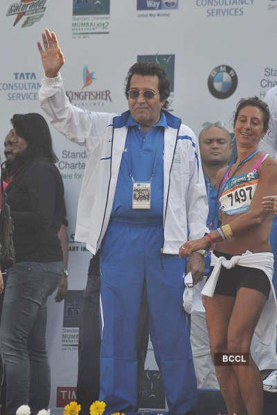Stars @ Mumbai Marathon