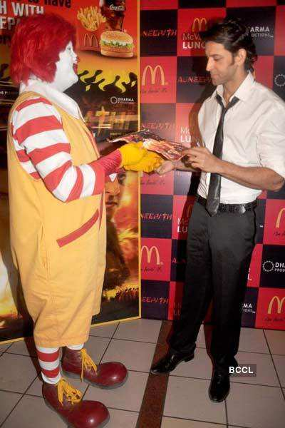 Hrithik ties up with McDonalds