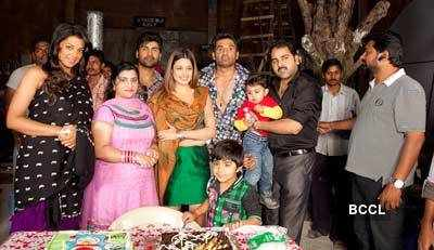 Producer Prashant Sharma's son's b'day party