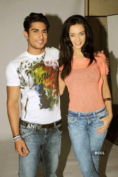 Prateik, Amy shoot for 'Lawman' jeans