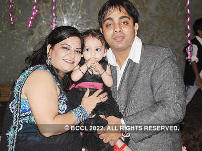 Hiya Chawla's 1st b'day party