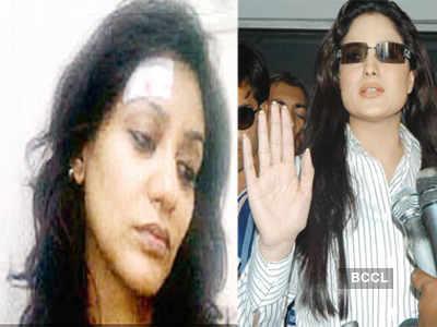 Veena Malik's ugly fight with Vedita Pratap