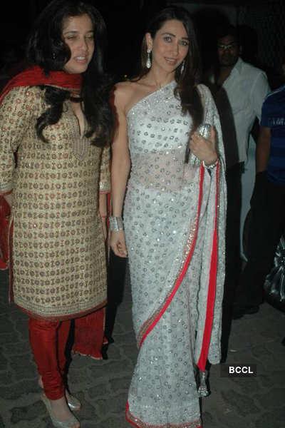 Stars at Sanjay Dutt's party