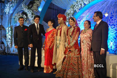 Celebs at Prerna Ghanshyam Sarda's wedding