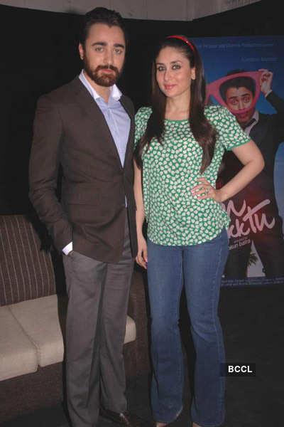 Imran, Bebo promote 'Ek Main Aur Ek Tu'