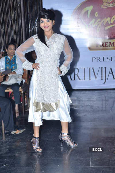 Aarti Gupta's collection showcase