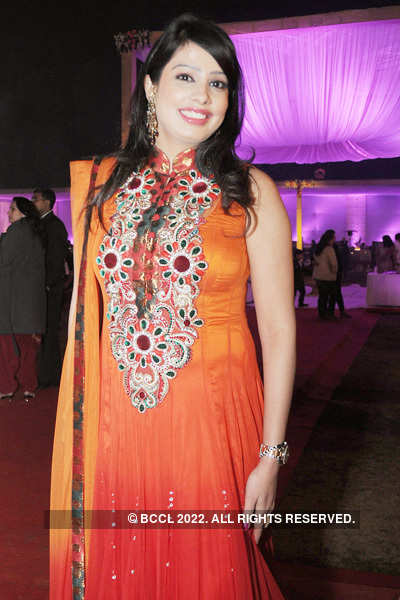 Vishal & Saloni's wedding reception