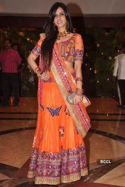 Riteish-Genelia's sangeet ceremony