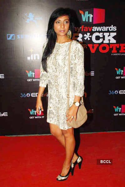 Celebs @ 'VH1 Rock Your Vote'