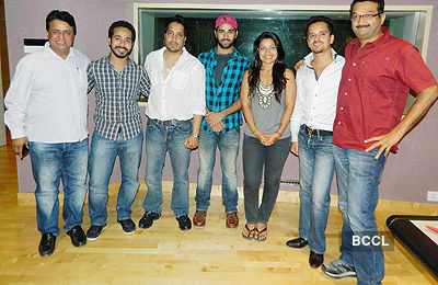 Mika records song for 'Bittoo Boss'