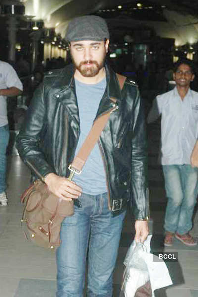 Stars spotted at airport