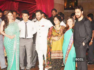 Riteish-Genelia's wedding reception - Part 1