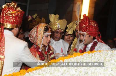 Genelia's 'Bidaai' ceremony