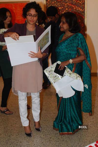 Sangeeta Gupta's painting exhibition