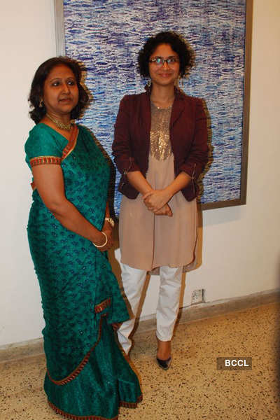Sangeeta Gupta's painting exhibition