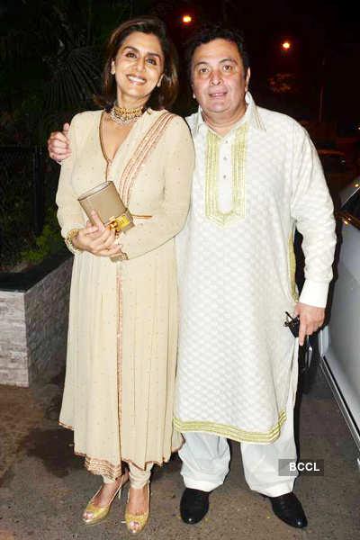 Shobha Kapoor's b'day party