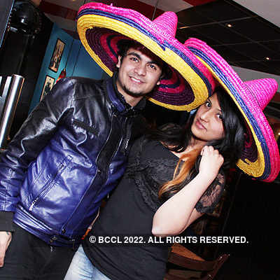 Party in Mexican style @ TGIF