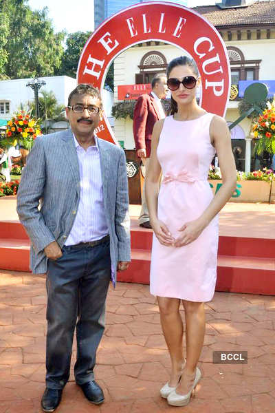 Celebs attend Ellle race