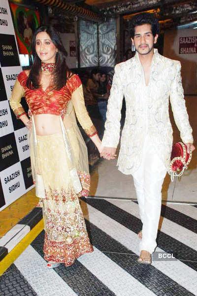 Celebs @ Saazish-Shaina's bridal show