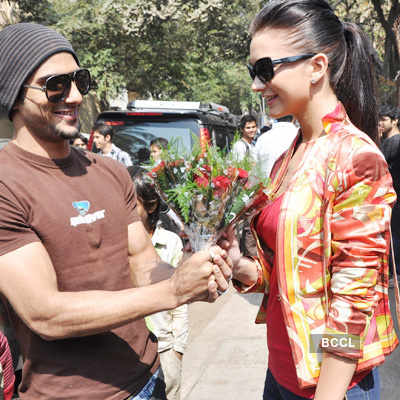 Prateik & Amy celebrate Valentine day