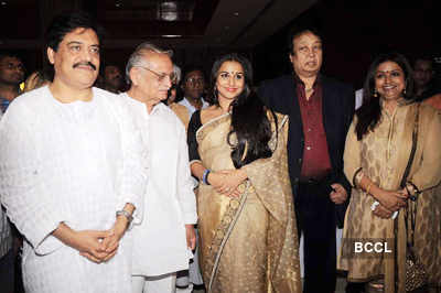 Gulzar & Jagjit Singh's album launch