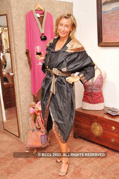Ramona Galardi's concept store launch