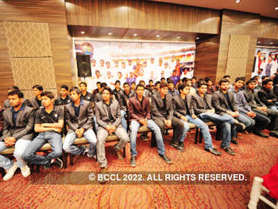 Felicitation function of Ranji players